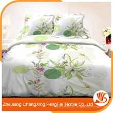 Fornecedor profissional na maior parte do tecido de folha de cama de poliéster barato da China