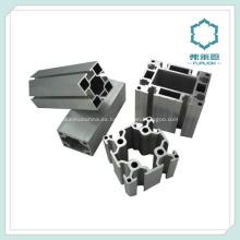 Perfil extrusionado de aluminio piezas de equipo mecánico