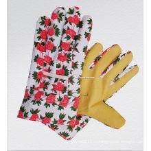 ПВХ пропитанные перчатки сада-2701