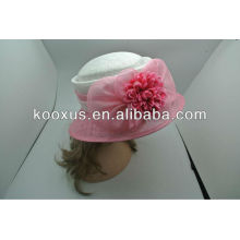Sinamay millinery party hats wholesale