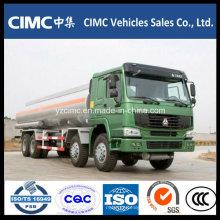 Sinotruk HOWO marca 8 * 4 caminhão tanque de petróleo