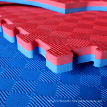 eva sport protection mat, interlock foam tiles, 100x100cm judo mats