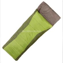 Wholesale Cotton Green Sleeping Bag, Envelope Form Adult Sleeping Bags