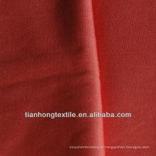 100 % tissé coton carbone brossé toile plaine mourir tissu