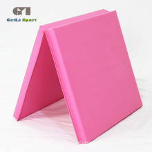 PVC Pink Soft Play Thick Gym Mat