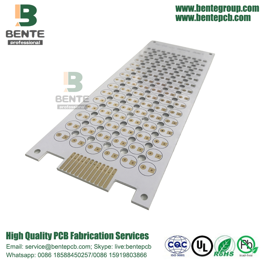 Highly Luminous LED Lamp 1 Layer Aluminum PCB