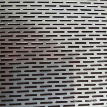 Stainless Steel Slot Hole Perforated Metal