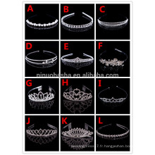 Briliant Women Wedding Party Accessoires pour cheveux Head Crown For Bride Accessoires de mariage Party NB1006