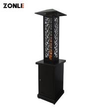 ZHONGLI OPS200 Cast Iron Modern Outdoor Wood Pellet Fireplace