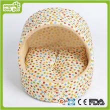 Lit de chien fait à la main, lit de chambre à chien d'intérieur (HN-pH559)