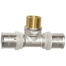 Brass Femalex Malex Female Press Connector (a. 0450)