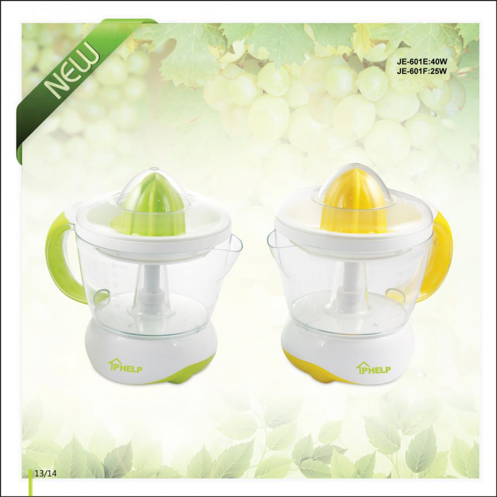 1.2L 25W/40W Orange Citrus Juicer with Transparent Jug
