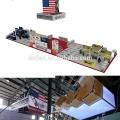 Detian Oferta gran tamaño Súper Popular Tejido Portátil de la Tensión Feria de Exhibición de la Tienda de Exhibición Stand Para Stand de Exposición