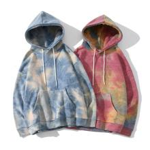 Pull à capuche avec logo personnalisé Sweats à capuche Tie Dye