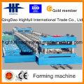 Maquinaria de formación de barandilla de autopista con control PLC