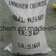99,5% Poudre de chlorure d'ammonium (classe industrielle)