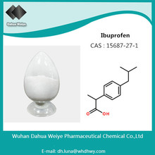 Ibuprofen CAS: 15687-27-1 Hot Sell API Local Anesthetic Ibuprofen