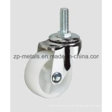 Tornillo de PP blanco ligero sin rueda del echador del freno