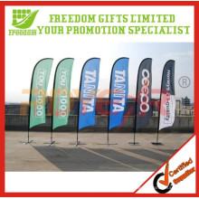 Werbeartikel billig benutzerdefinierte Strand Flagge