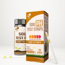 Kits de prueba de ph de las tiras reactivas de pH del suelo de Amazon