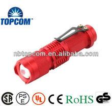 Lanterna CREE XRE-Q3 com bateria AA