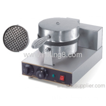 1 Plate Stainless Steel Commercial Waffle Baker