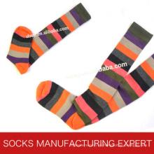 100% Baumwolle der Frau Coloful Tube Sock (UBM1043)