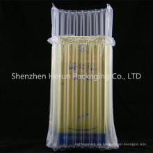 La venta caliente libera el bolso de burbuja de la columna del aire de las muestras