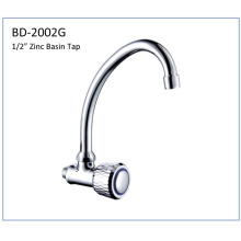 Bd2002g Single Handle Zinc Body Basin Tap
