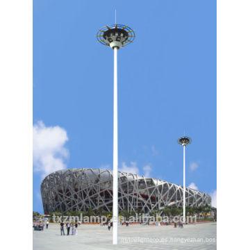 Alumbrado público de alto mástil AC110V30m con lámparas de sodio de alta presión de 1000w para plaza y aeropuerto