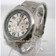 Mode automatische Uhr, Männer Edelstahl Uhren 15028