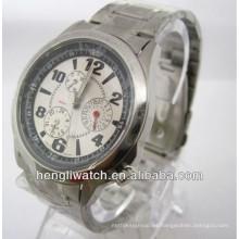Reloj automático de moda, hombres Relojes de acero inoxidable 15028