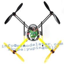 Brushless Motor Radio Control Uav Quad Copter With Gyroscope
