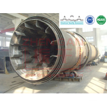 drying Three Rotary Drum Dryer for graphite