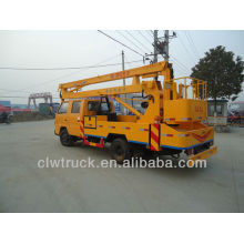 Hot selling JMC crew cab 16m aerial work platform truck in Libya