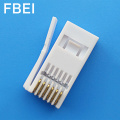 Conector RJ11 UK plug