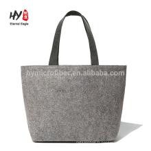 Hot vente mode sac fourre-tout en feutre