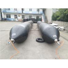Черные резиновые подушки безопасности морского спасения для спасения воздушных судн