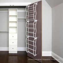 Shoe Rack for 36 Pair Over the Door Shelf Closet Wall Hanging Organizer Storage