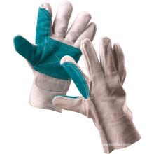 Рабочие перчатки для обеспечения безопасности на натуральной основе натуральной кожи (11127)