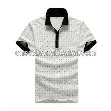13PT1013 Polo de t-shirt imprimé de haute qualité pour hommes