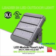 O UL DLC alistou a luz de inundação exterior do diodo emissor de luz de 185 watts com o suporte do suporte curto / longo