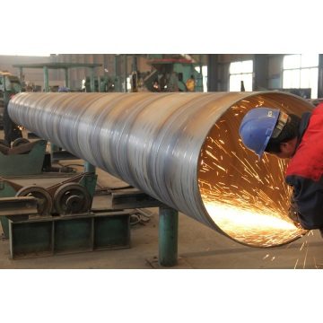 HOT-DIP GALVANIZED HELICAL PIPE