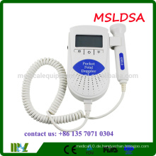 MSLDSB Erschwingliche Baby Sound Fetal Doppler Ultraschall Maschine mit CE ISO FDA zugelassen