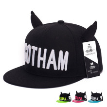 Fashion Lovely Promotional Cotton Horn Hip-Hop Trukfit Trucker Cap (YKY3371)