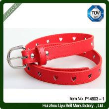 Fashion design pu belt with pin buckle popular design