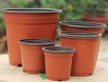 Double color planter,plastic vacuum pots