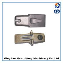Dentes de trincheira de forjamento em aço de alta qualidade