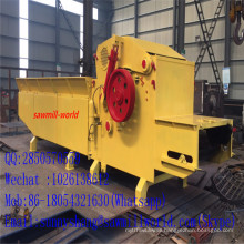 CNC Control Log Composite Crusher