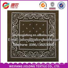 100 bandana de impressão de algodão